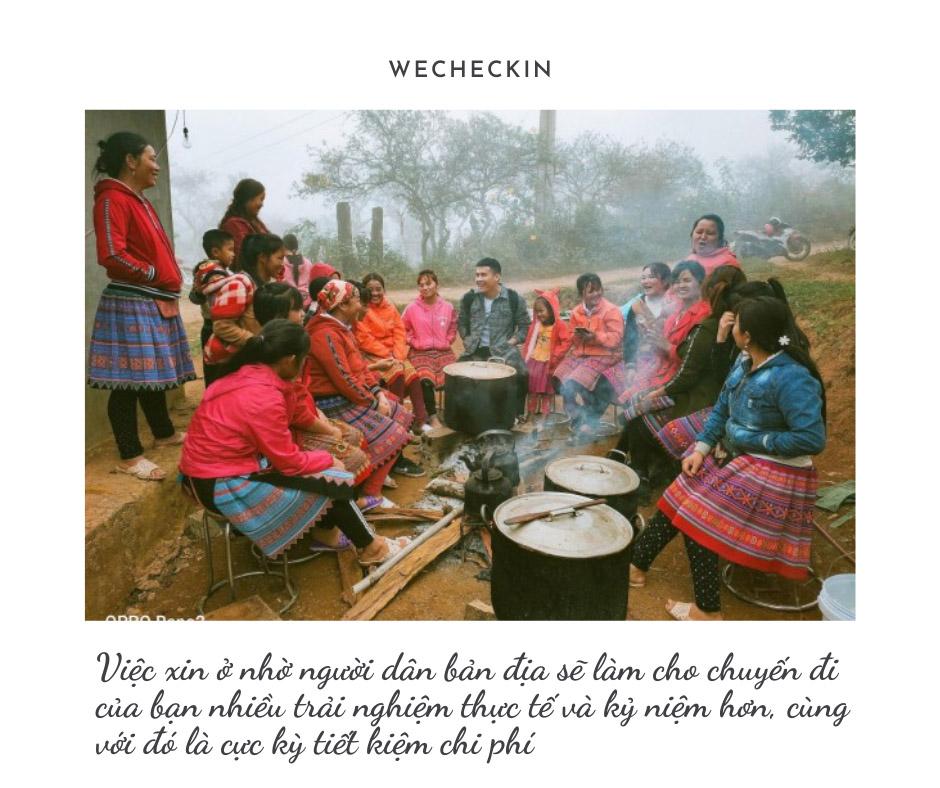 Ở cùng người dân bản địa ở Tây Bắc