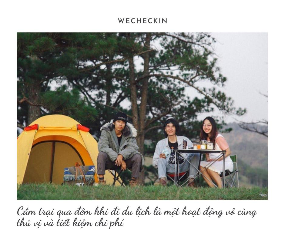 Cắm trại qua đêm theo team