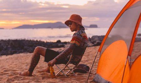 Cắm trại ở Bãi Đông Thanh Hóa