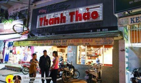 Quán kem bơ Thanh Thảo