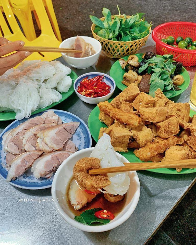 bún đậu Đông Thái