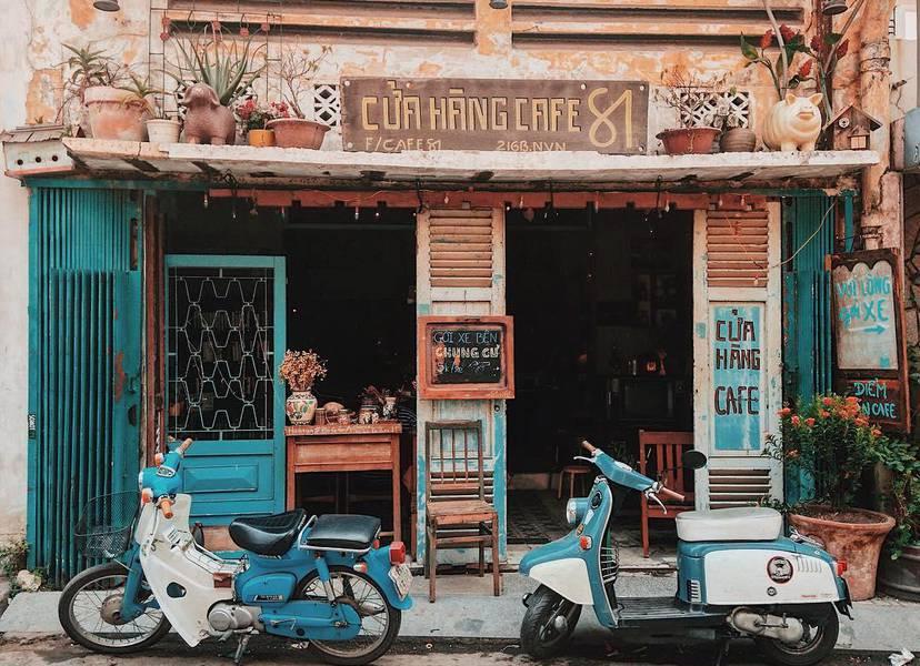 Cửa hàng cafe 81
