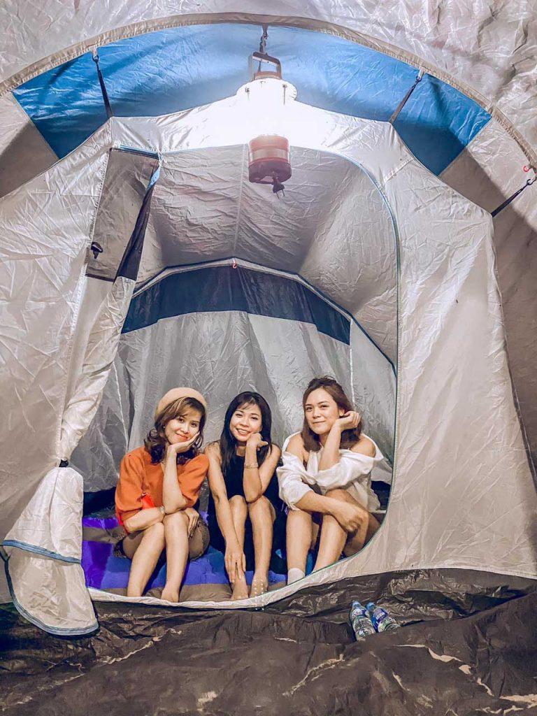 Địa điểm cắm trại Hà Nội