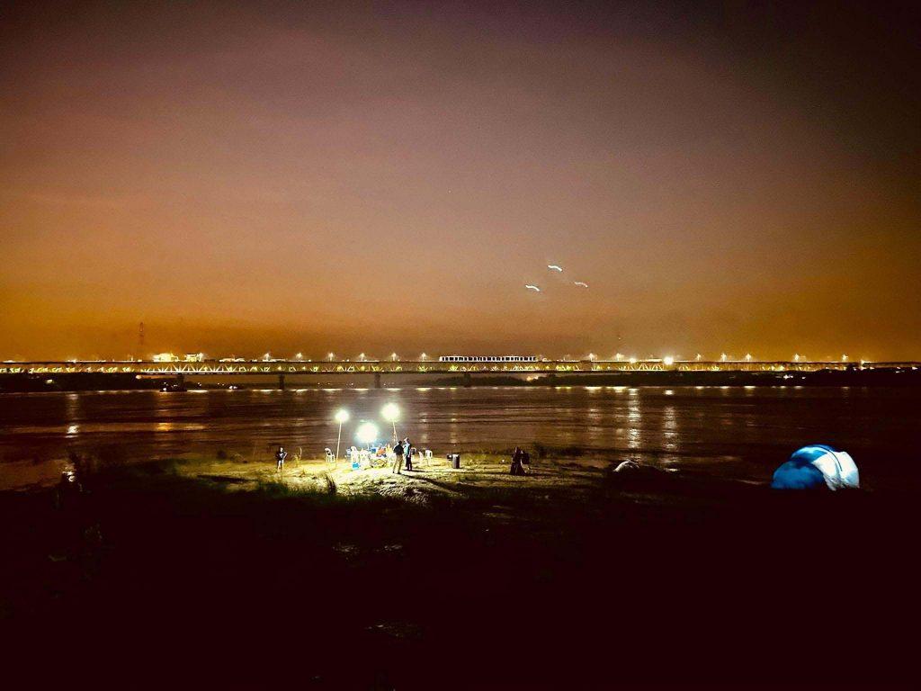 Cắm trại đêm đảo Mây Trắng
