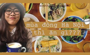 Mùa đông Hà Nội ăn gì