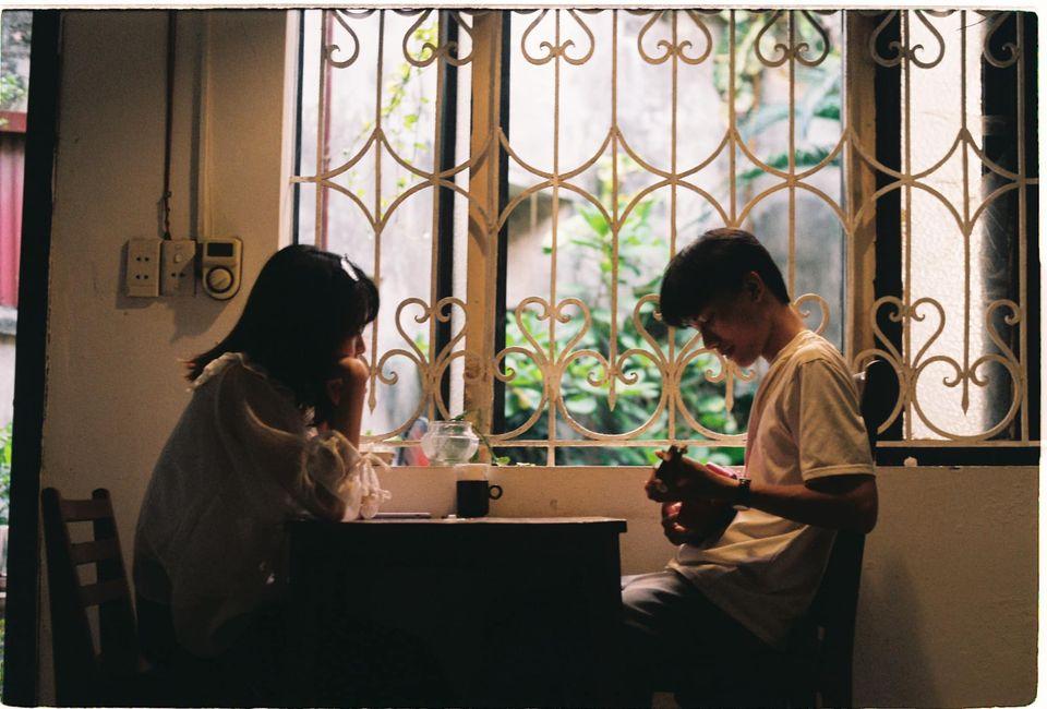 Quán cafe phong cách retro Hà Nội