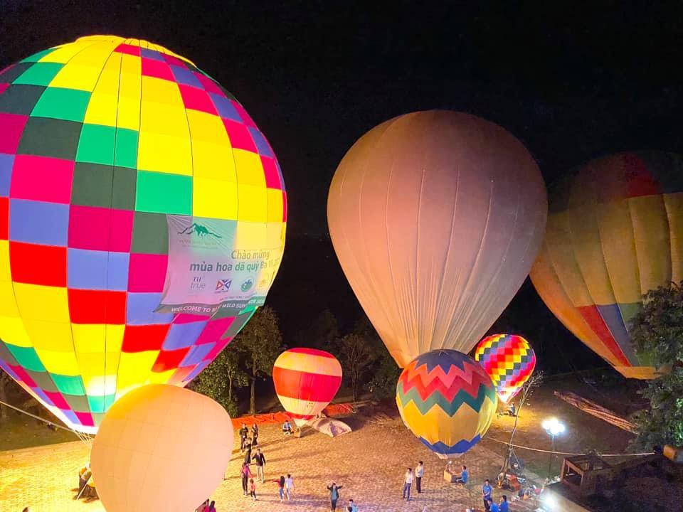 Lễ hội Bay khinh khí cầu ở Ba Vì
