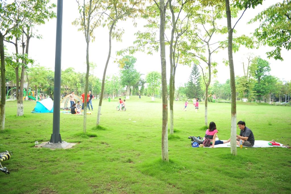 Công viên Mùa Hạ ở Ecopark