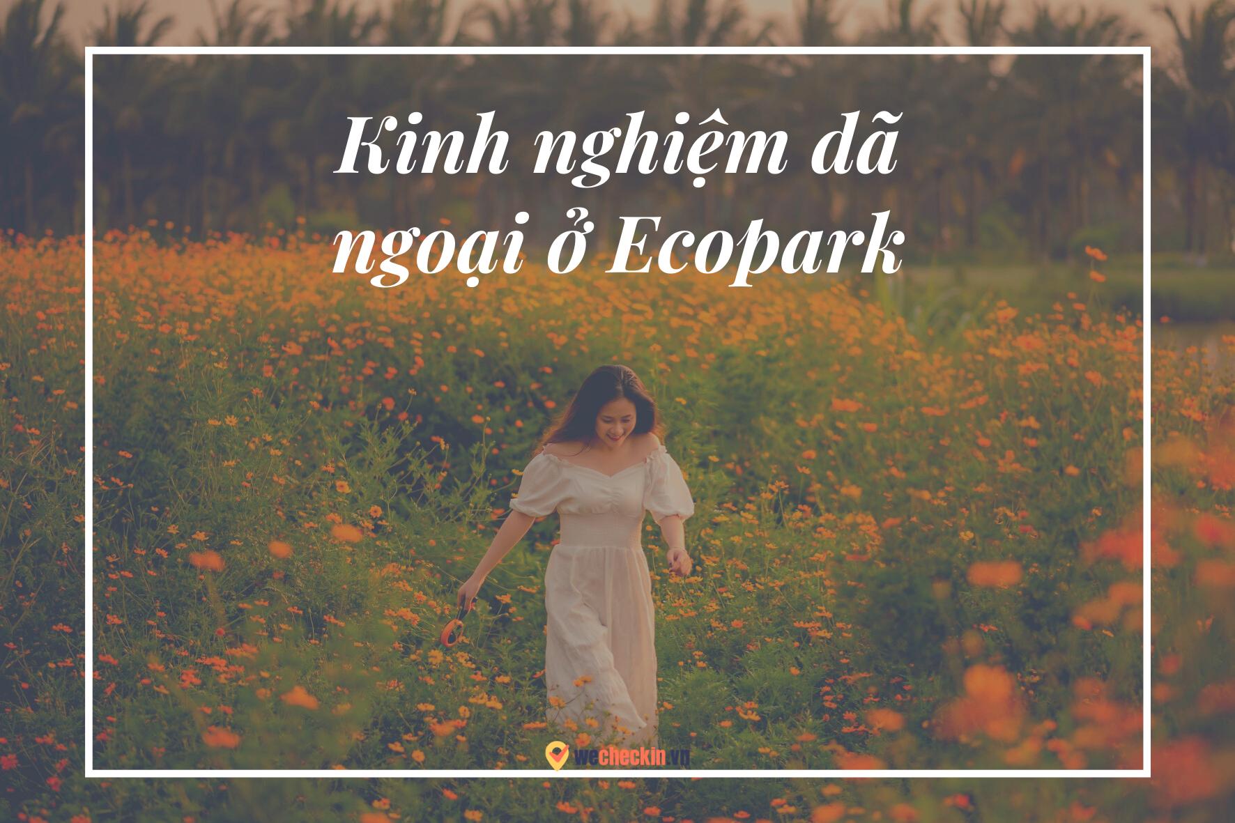 Kinh nghiệm dã ngoại ở Ecopark