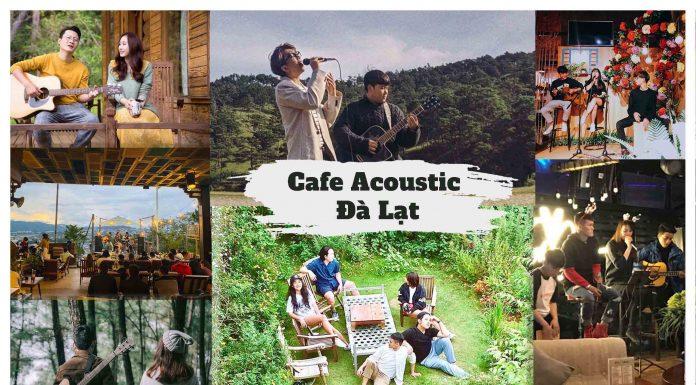 Quán cafe Acoustic tại Đà Lạt