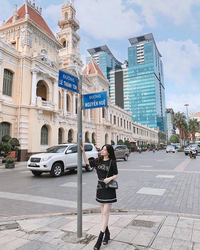 Phố đi bộ Nguyễn Huệ Sài Gòn