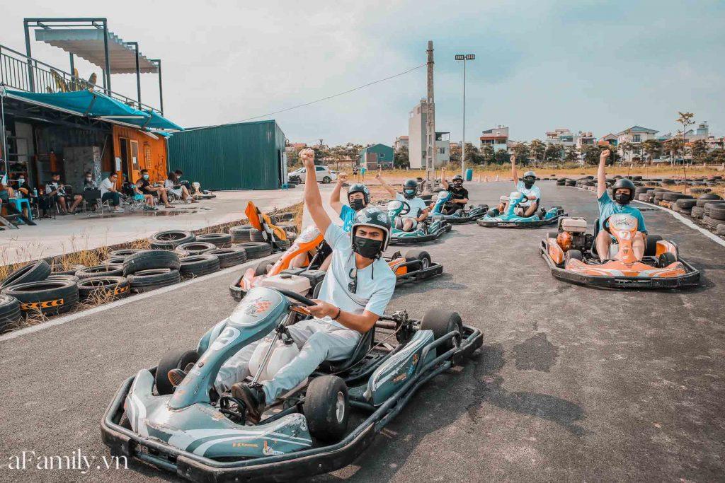 Địa điểm vui chơi mạo hiểm tại Hà Nội - Đua xe Go kart
