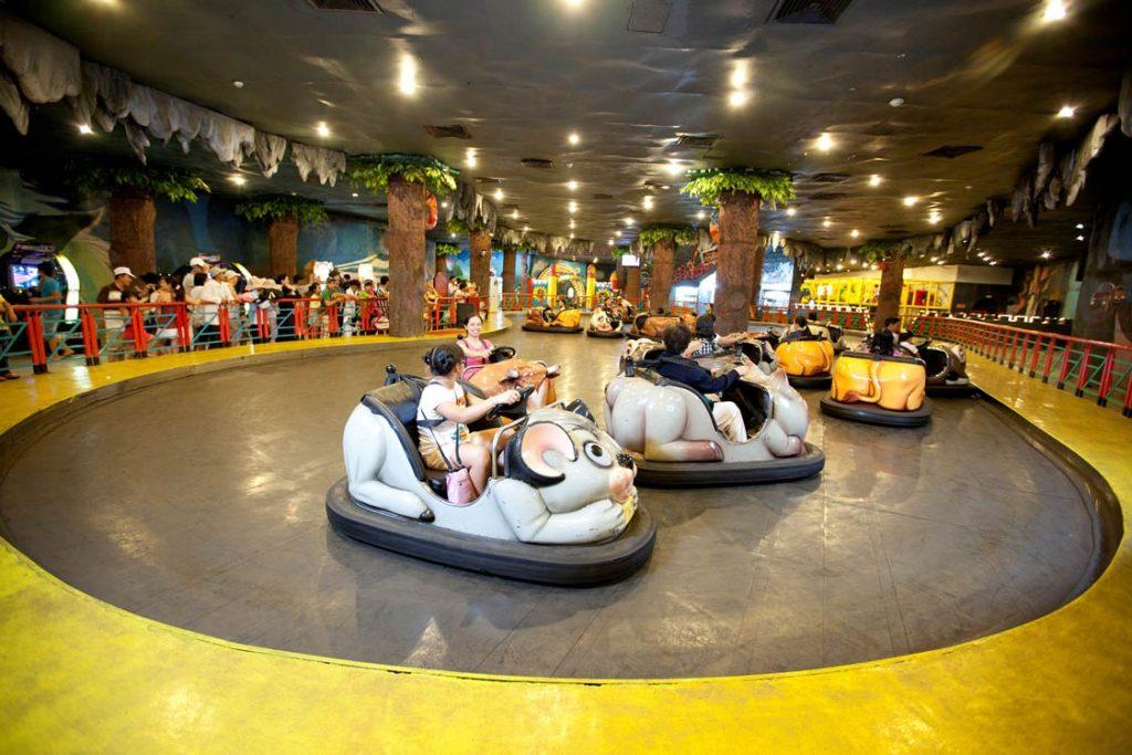 Địa điểm vui chơi mạo hiểm tại Hà Nội - Time City