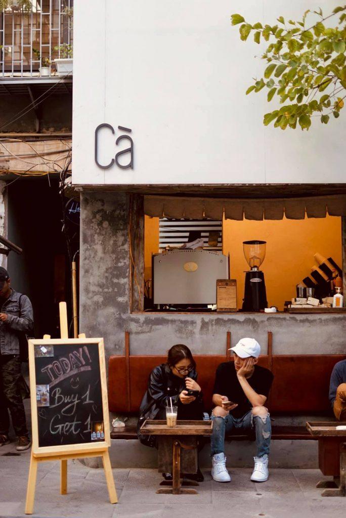 CÀ THIỀU - Quán cafe nhận ship mùa dịch