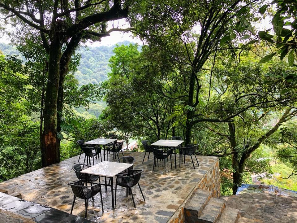 quán cafe sky garden tam đảo