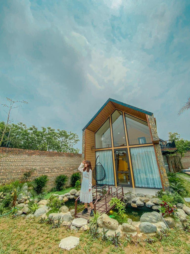Căn bungalow LyLy Villa Sóc Sơn