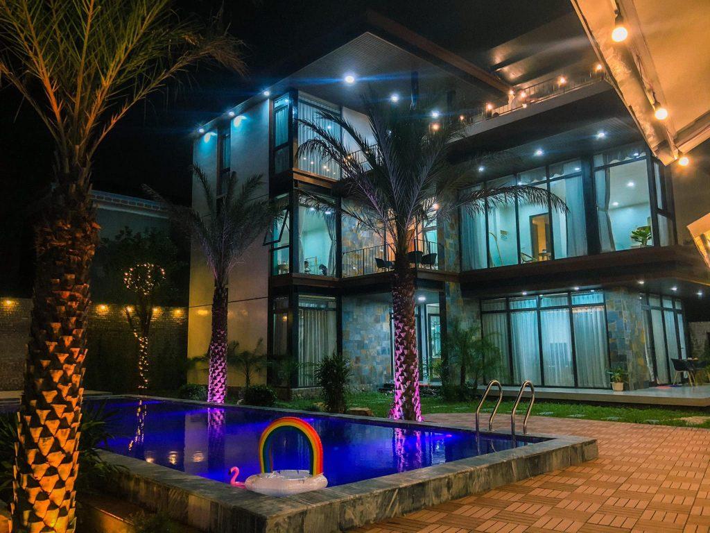 Không gian nghỉ dưỡng của Lyly Villa Sóc Sơn