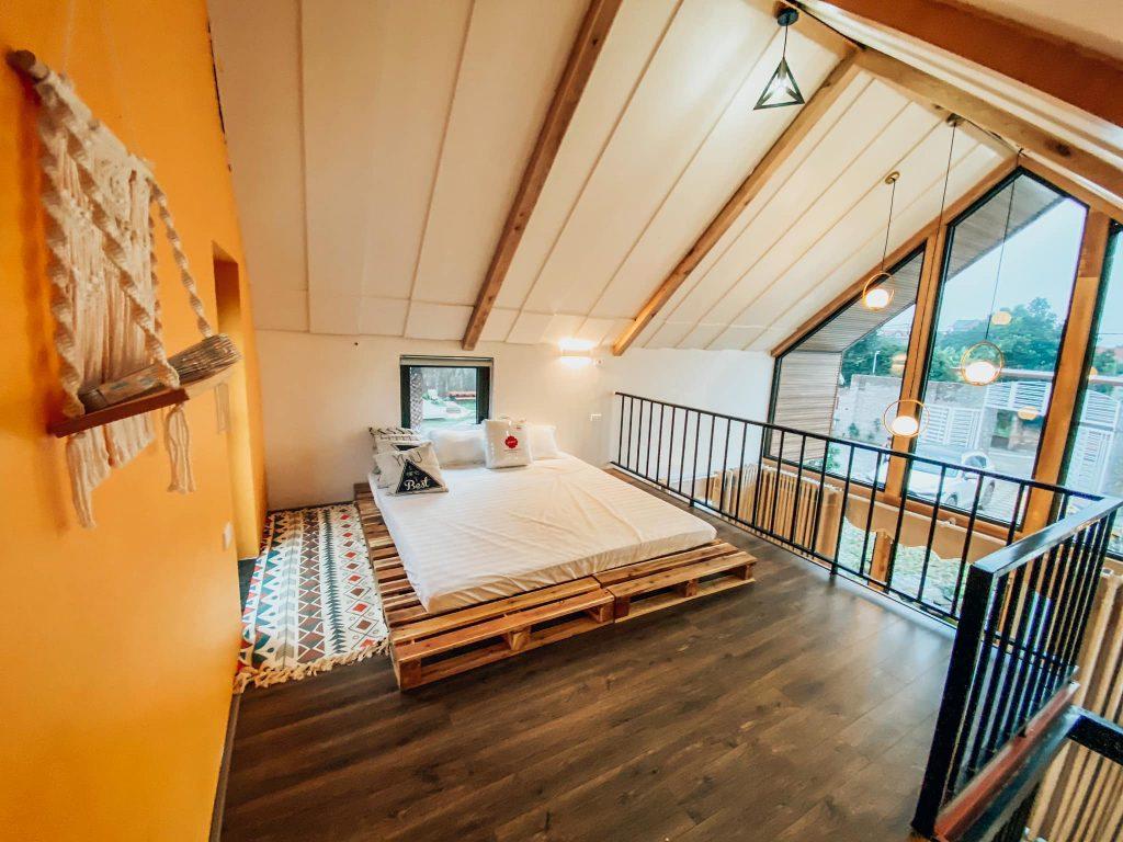 Phòng ngủ LyLy Villa Sóc Sơn