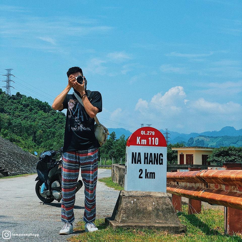 Di chuyển bằng xe máy đến Na Hang