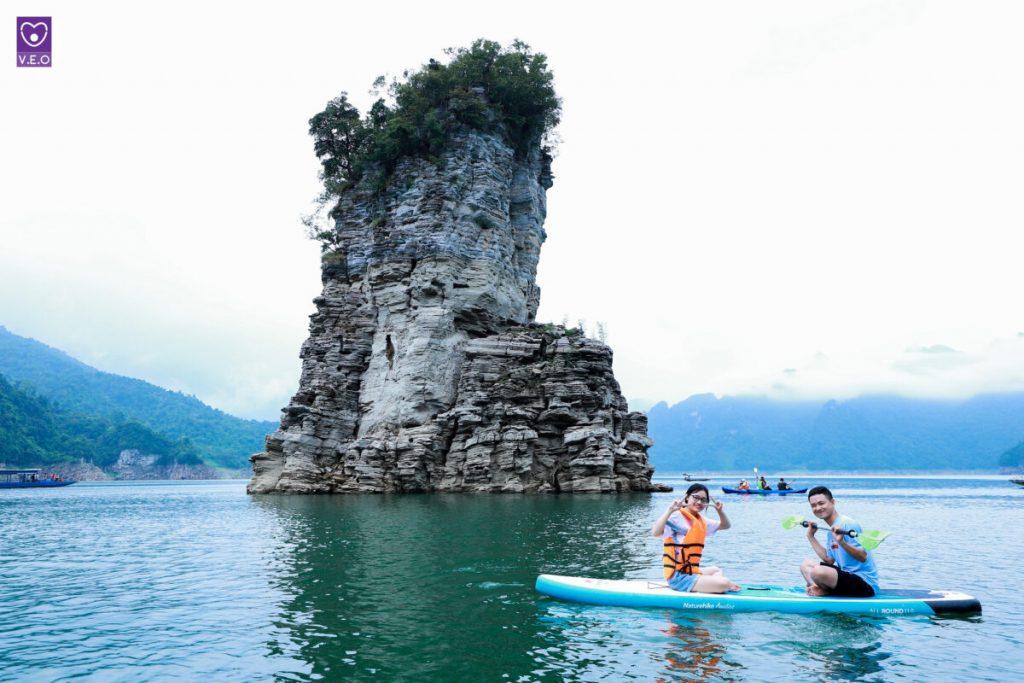 Chèo Kayak ở Na Hang