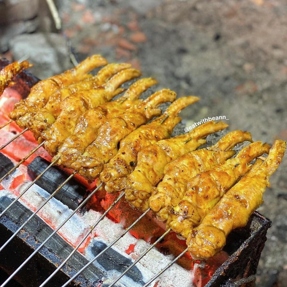 quán chân gà nướng Minh Khai