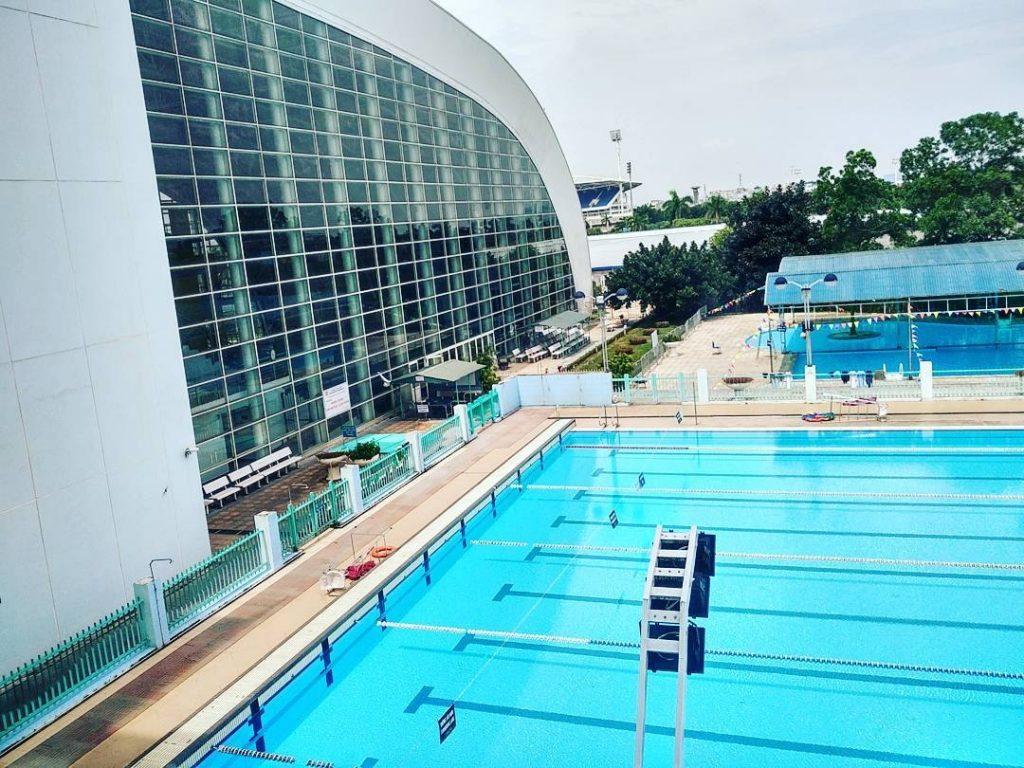 Bể bơi giá rẻ ở Hà Nội - Cung thể thao dưới nước Mỹ Đình