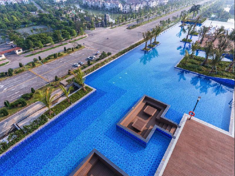 Bể bơi giá rẻ ở Hà Nội - Vincom Plaza Long Biên