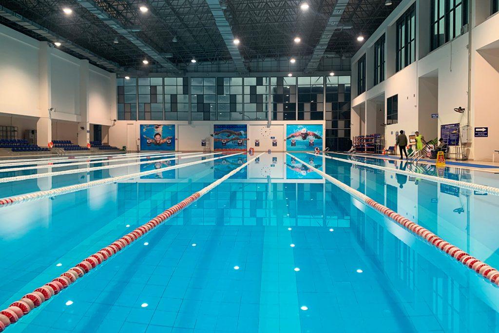 Bể bơi Bộ Công An