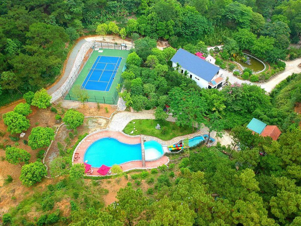 Rừng thông xanh Resort ở Sóc Sơn