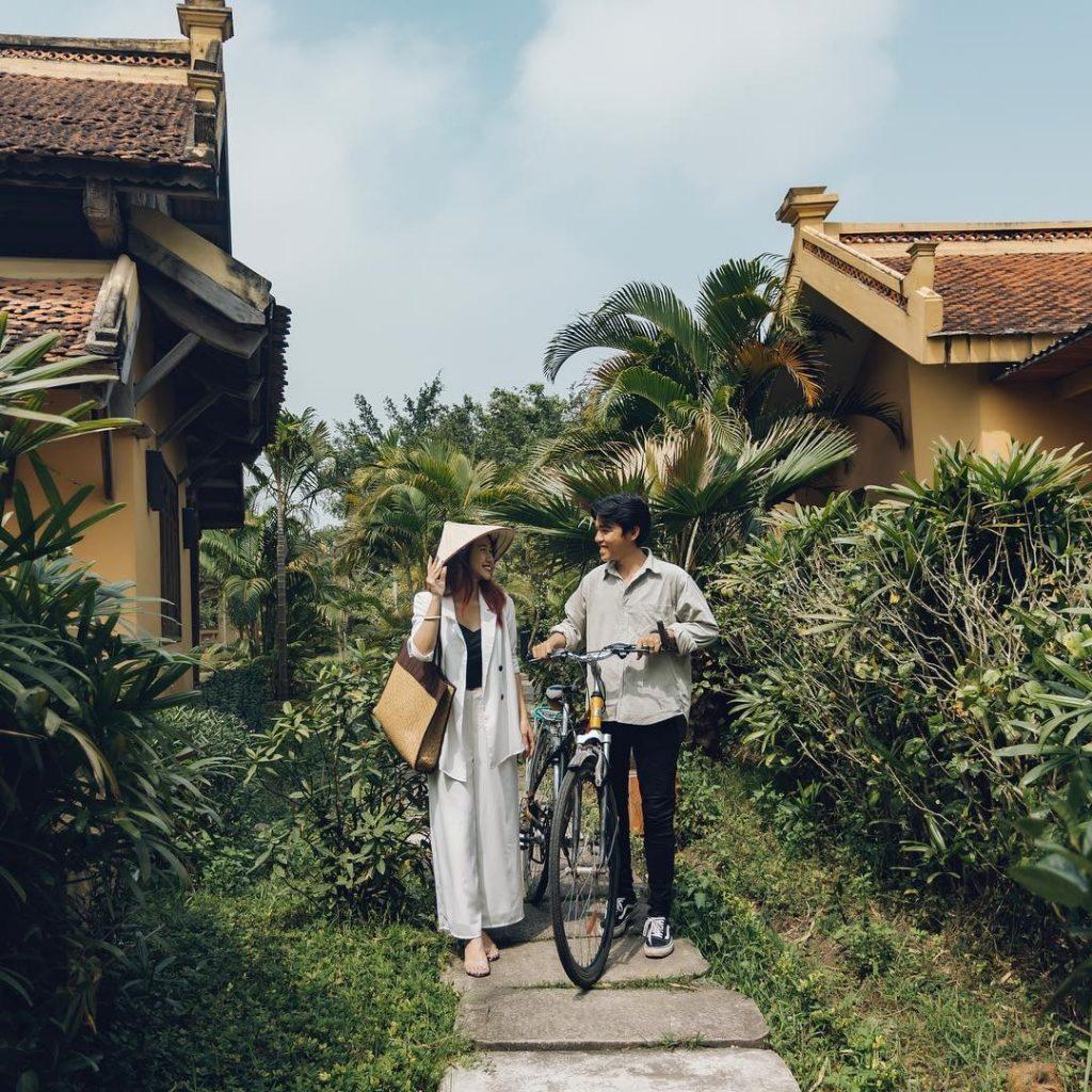Đạp xe tham quan resort