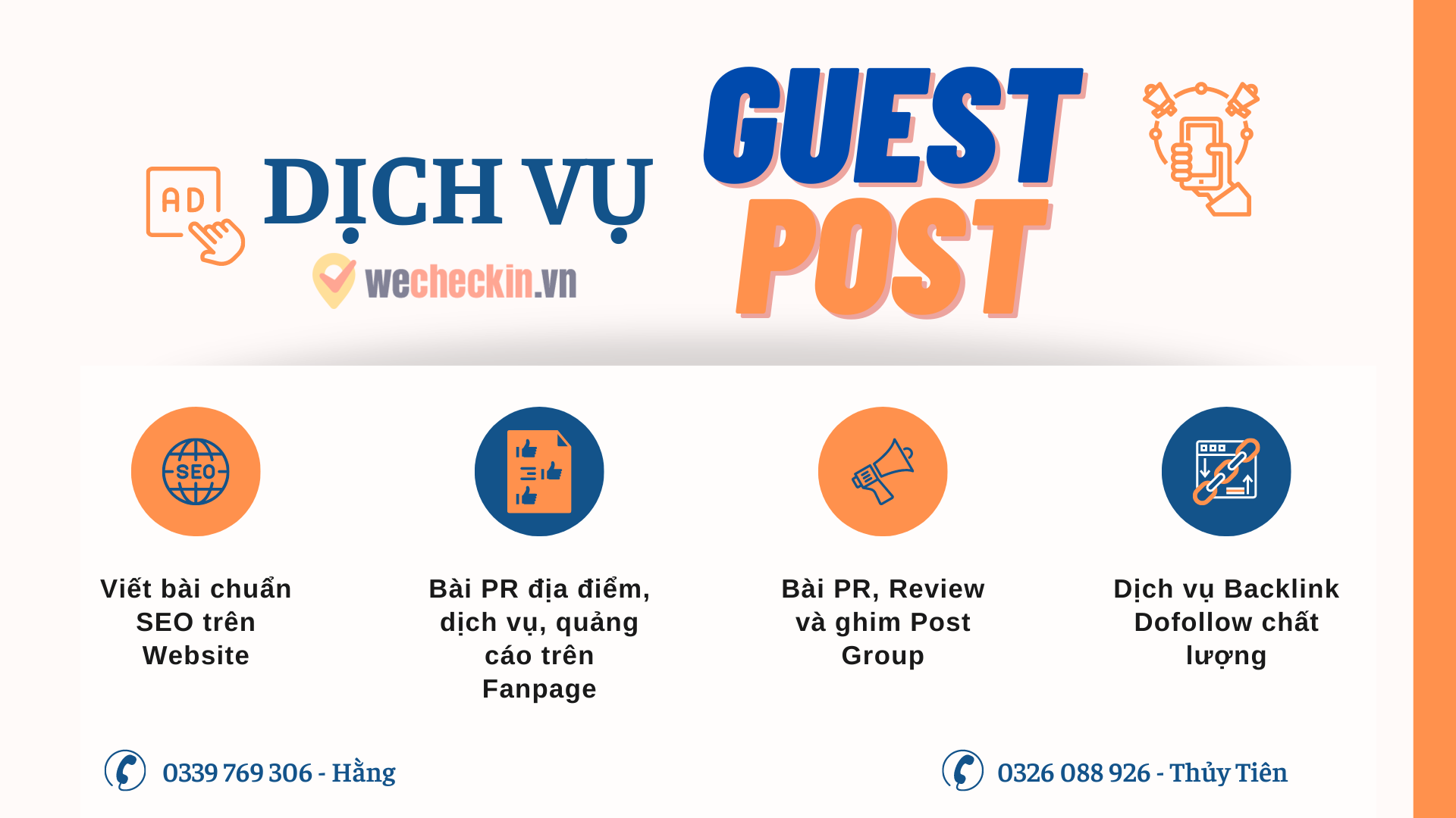 Dịch vụ Guest Post backlink